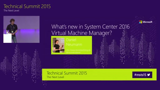 Was ist neu beim System Center 2016 Virtual Machine Manager