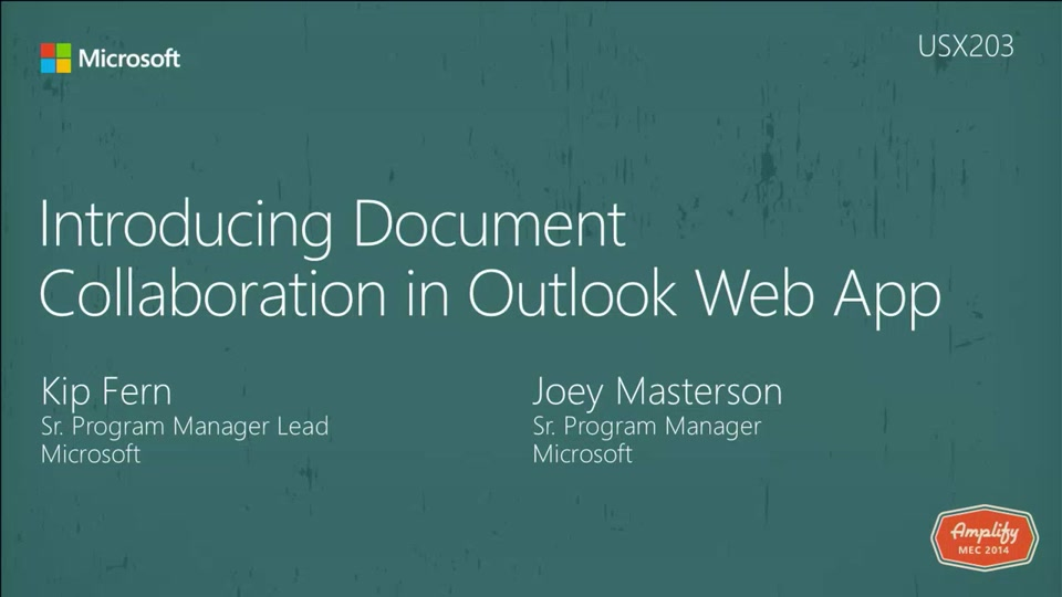 Introducing document collaboration in outlook web app for Document collaboration app