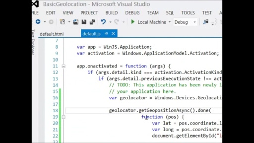 How Do I: Integrate Geolocation into my Windows 8 Game?