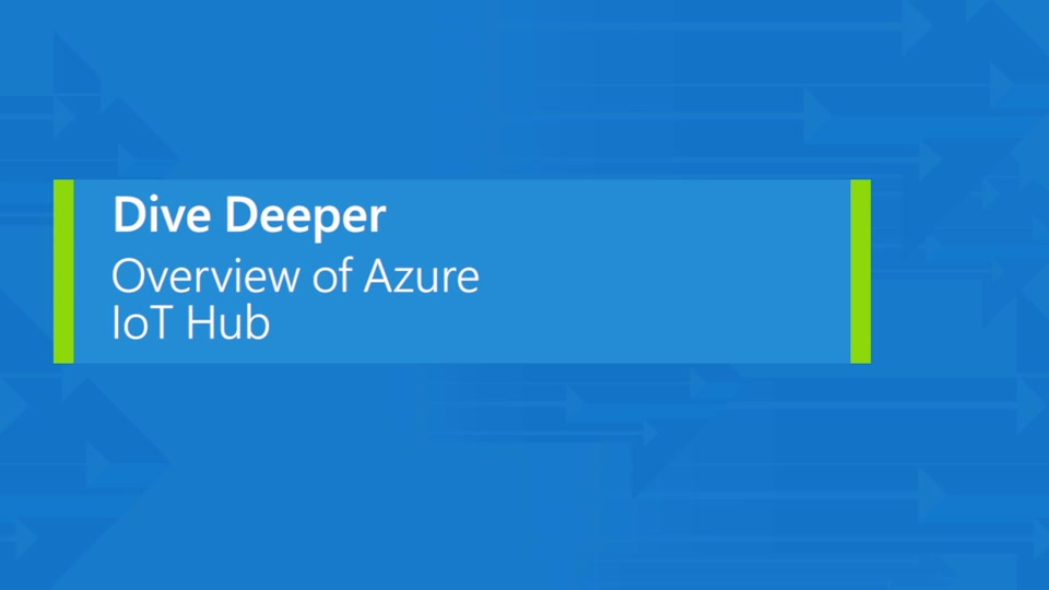 Overview of Azure IoT Hub