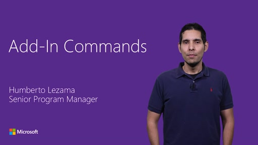 Add-in Commands in Office Ribbon (Public preview)