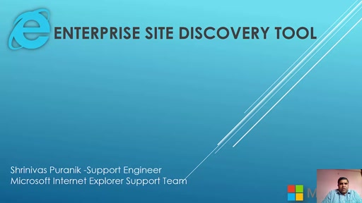 Enterprise Site Discovery Tool