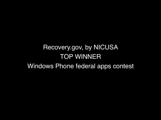 Recovery.Gov by NICUSA