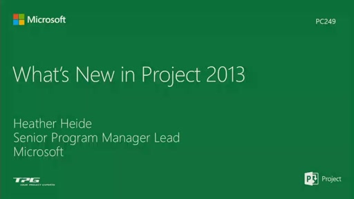What's New in Project 2013 desktop