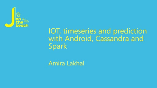 IoT, timeseries and prediction with Android, Cassandra and Spark