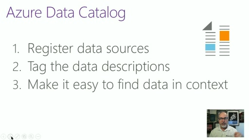 CIS101 - S2V2 - The Azure Data Catalog