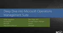 Deep Dive into MS Operations Management Suite