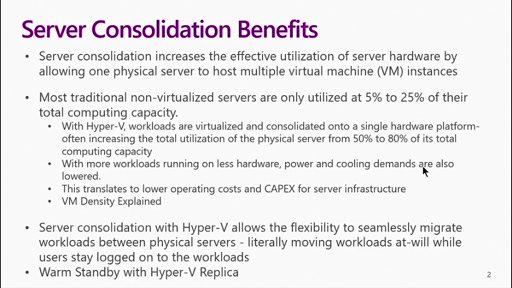 (Part 1) Server Consolidation:  Hardware Sizing for Server Consolidation