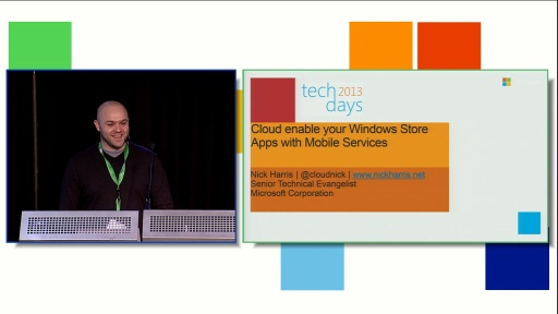 Cloud enable your Windows Store Apps with Mobile Services