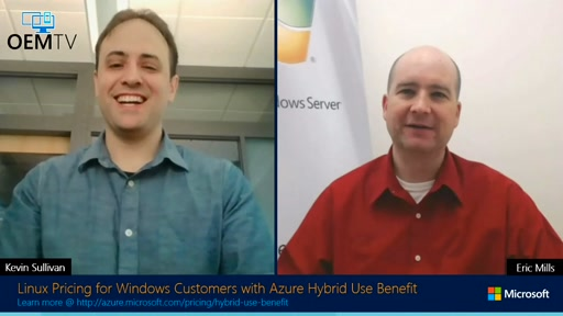 Linux Pricing for Windows Customers with Azure Hybrid Use Benefit