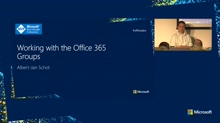 Working with the Office 365 Groups