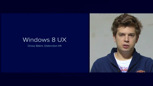 Windows 8 UX