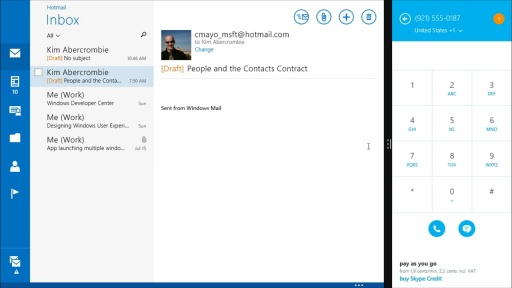 Windows 8.1 UX Design: (09) Contacts and Appointments