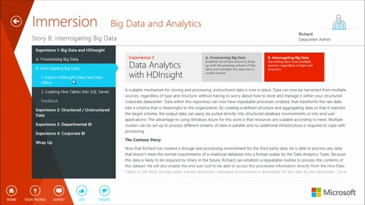 Big Data and Business Analytics Immersion v3.1: (02b) Big Data with HDInsight: Interrogating Big Data