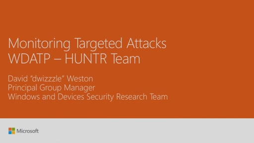 Monitor actor groups and detect targeted attacks with Microsofts Hunter Team