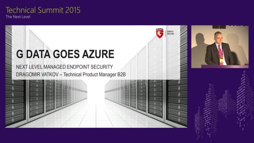 G DATA goes Azure: Next Level Managed Endpoint Security