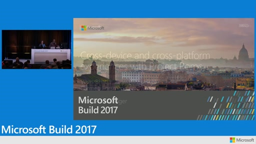 Cross-device and cross-platform experiences with Project Rome and Microsoft Graph