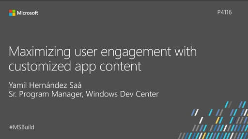 Maximizing user engagement with customized app content