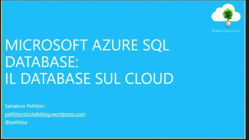 Windows Azure SQL Database: Il Database sul Cloud