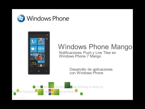 Notificaciones Push y Live Tiles en Windows Phone