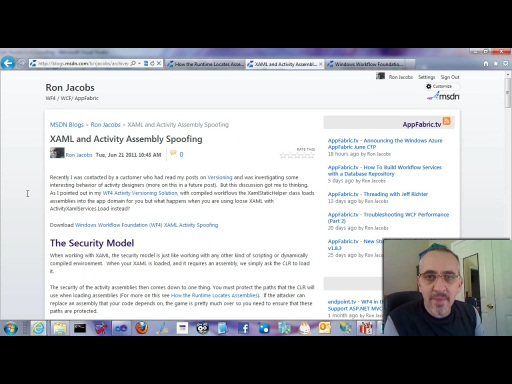 Workflow TV - XAML and Activity Assembly Spoofing