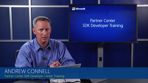 Module 1 Introductory System Concepts and Getting Started with the Partner Center SDK