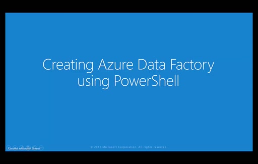 Create an Azure Data Factory Instance