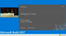 Introducing Adaptive Cards