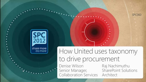 Customer Showcase: How United Airlines uses taxonomy to drive procurement