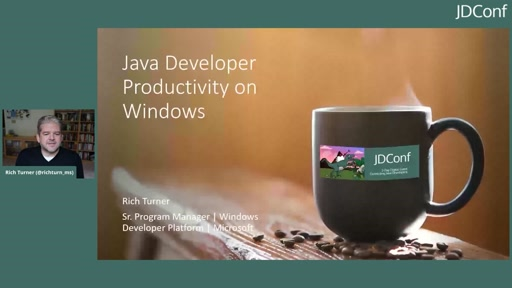 Java Developer Productivity on Windows