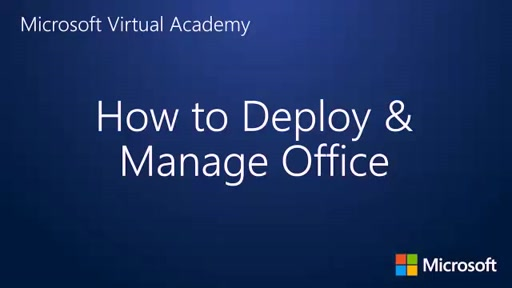 How to Deploy and Manage Office