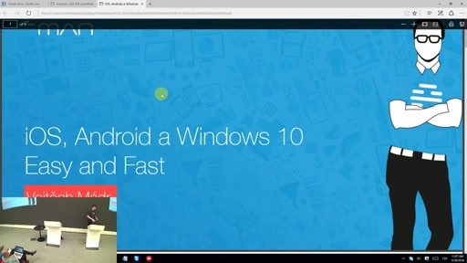 iOS, Android a Windows 10 - snadno a rychle