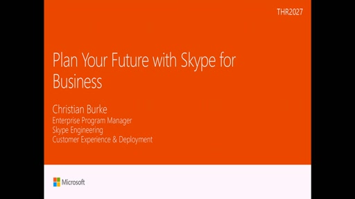 Plan your future with Skype for Business