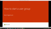 Meetup:  Learn how to start a user group
