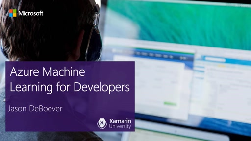Developer's Intro to Azure Machine Learning