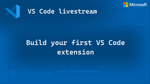Build your first VS Code extension