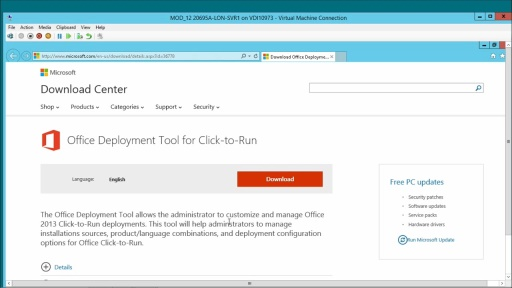 Deploying Office 2013 Using Office 365