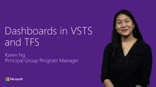 Dashboards in Visual Studio Team Services