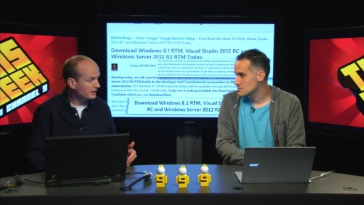 TWC9: Windows 8.1 RTM on MSDN, Visual Studio 2013 RC's, One ASP.NET and more...