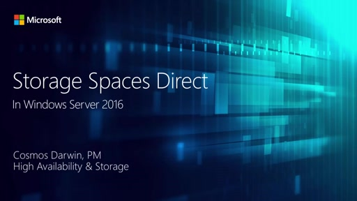 Storage Spaces Direct in Windows Server 2016