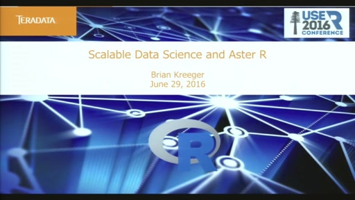 How Teradata Aster R Scales Data Science