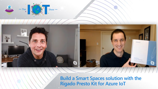 Build a Smart Spaces solution with the Rigado Presto Kit for Azure IoT