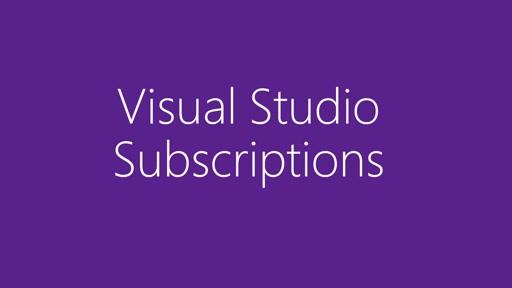 Visual Studio Subscriptions portal overview