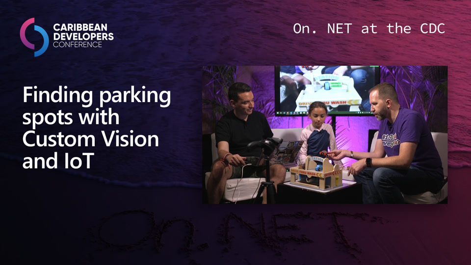 Finding parking spots with Custom Vision and IoT