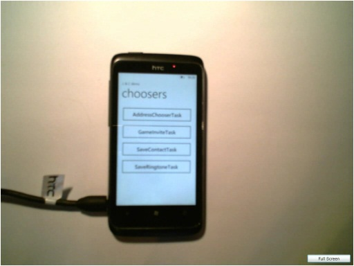 Launchers and Choosers | Kurs Windows Phone 7 - pisz na Mango, cz. 7