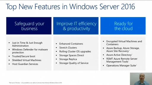 Windows Server 2016 in 10 Minutes