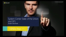 "System Center ""State of the union"" og SP1 overblik"