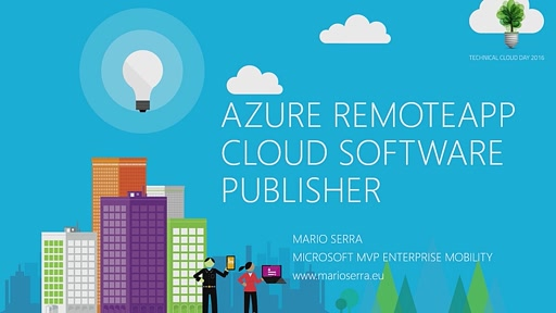 Azure RemoteApp: Cloud Software Publisher