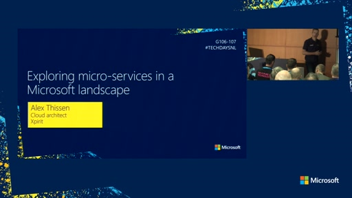 Exploring Microservices in a Microsoft Landscape