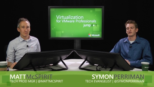 Virtualization for VMware Professionals Jump Start: (03) Security, multi-tenancy and flexibility
